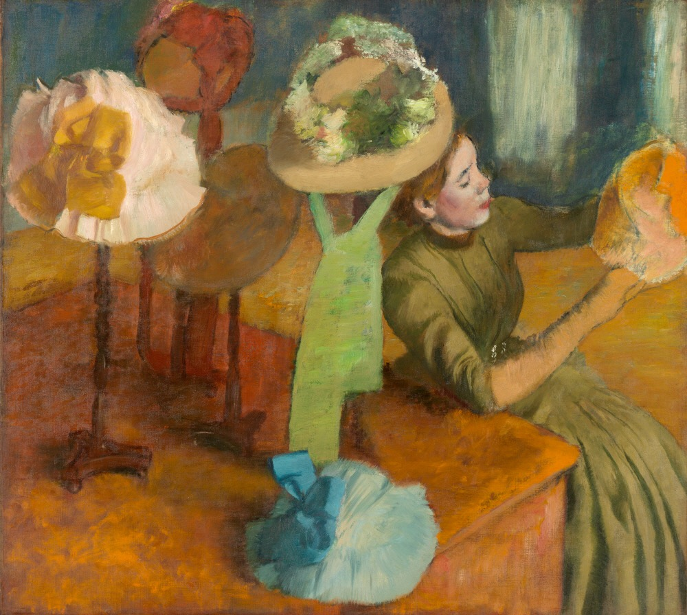 Degas, Impressionism, and the Millinery Trade