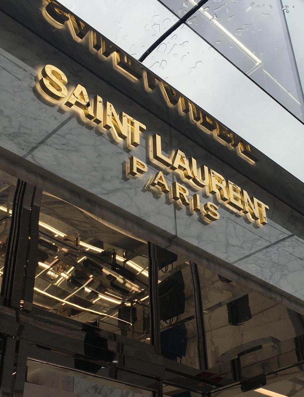 Saint Laurent Paris Vancouver