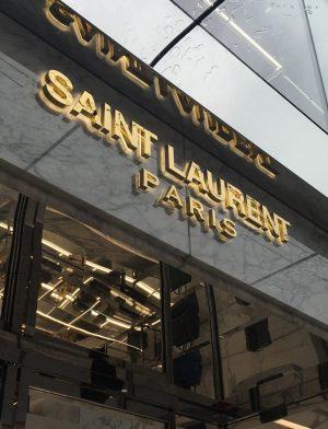 Saint Laurent Paris debuts in Vancouver