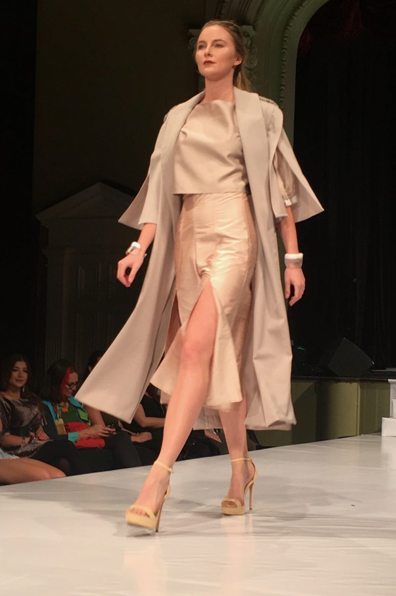 Eco fashion week Australia gala Julia English Photo Edward Quan