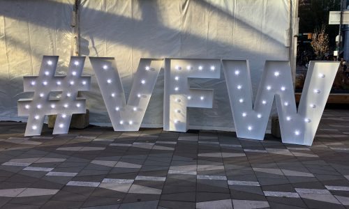 Art Gallery Plaza Transforms Vancouver Fashion Week