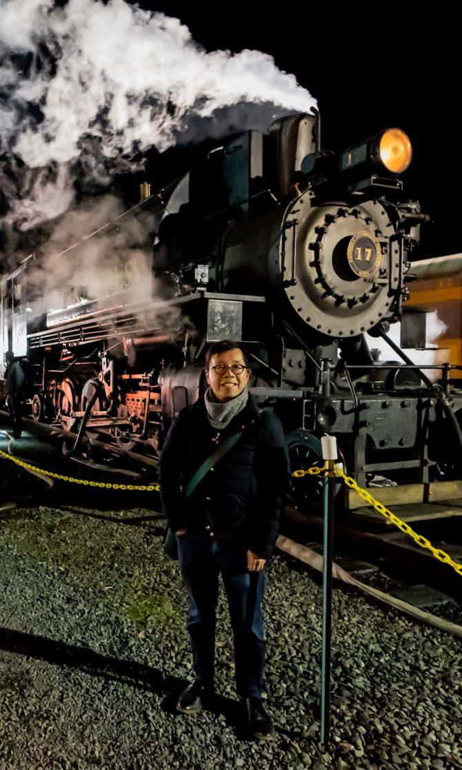 Christmas Magic Aboard The Polar Express Train