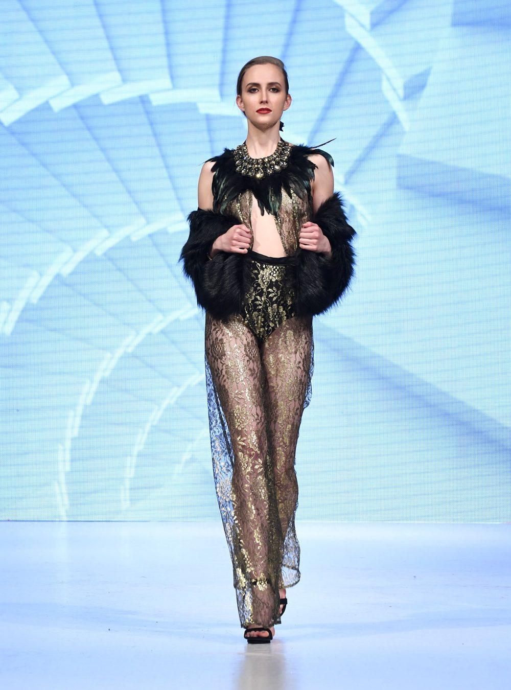 Chany Venturini at 2018 Vancouver Fashion Week