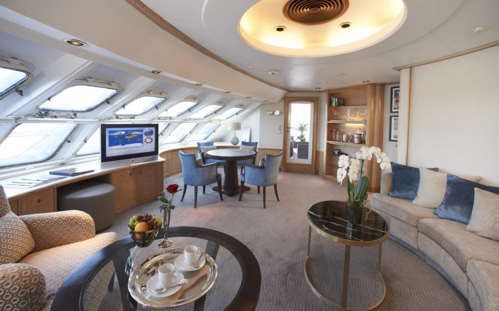 Windstar Cruises Star Legend Owners Suite