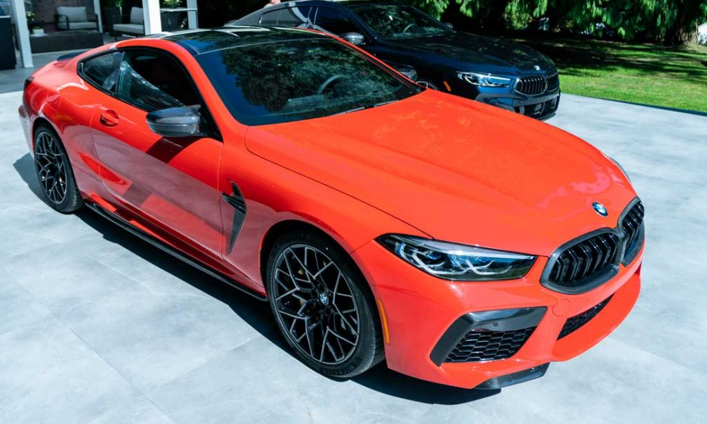 BMW M8 Coupe Luxury Supercar Weekend 2019