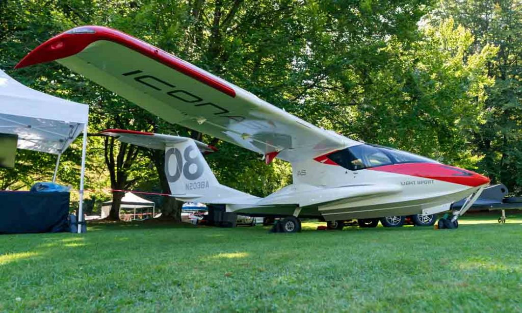ICON A5 Luxury Supercar Weekend 2019