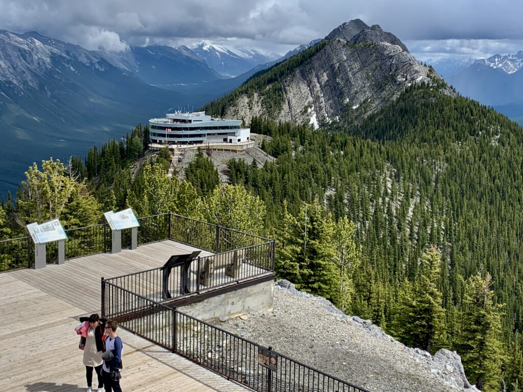 Sulphur Mountain Boardwalk Banff AB