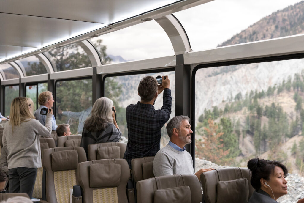 Rocky Mountaineer luxury rail vacations