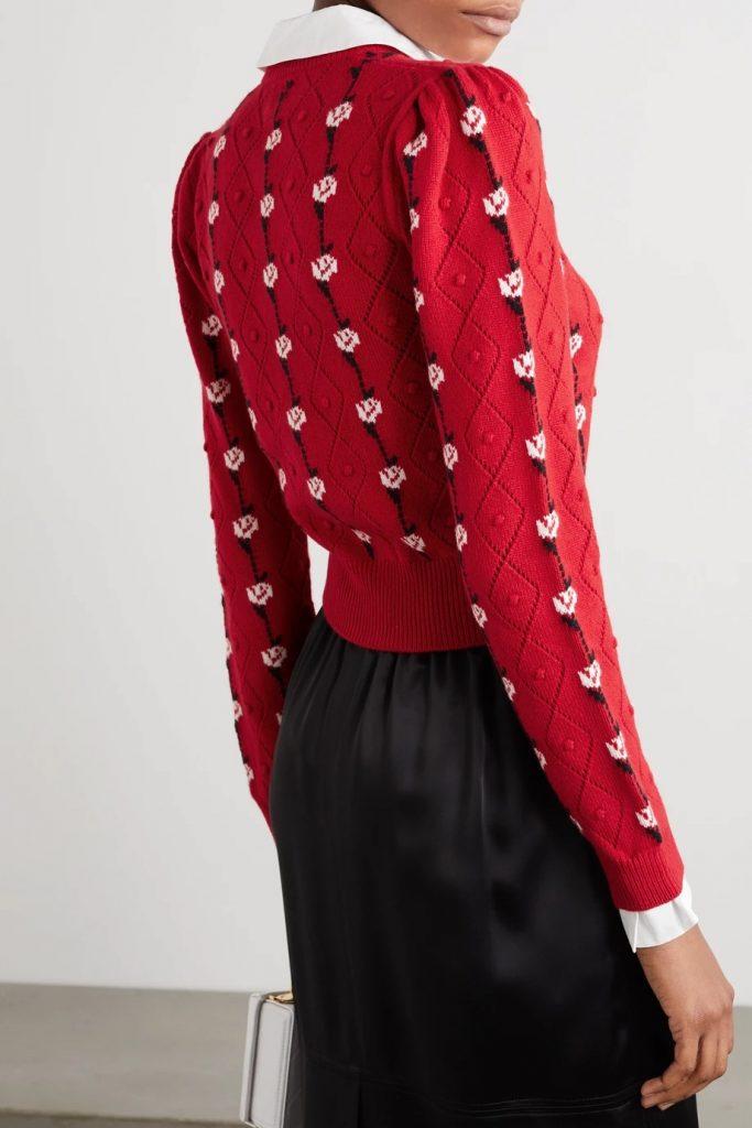 Baby Chic Cardigan sweater Miu Miu